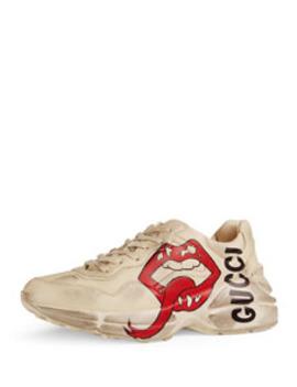 Rhyton Open Lip Sneakers by Gucci