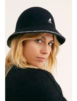 Kangol Stripe Casual Bucket Hat by Kangol