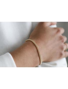 Curb Chain Bracelet   14k Gold Filled Or Sterling Silver   Stacking Bracelet   Chain Bracelet Women   Thick Gold Chain by Etsy