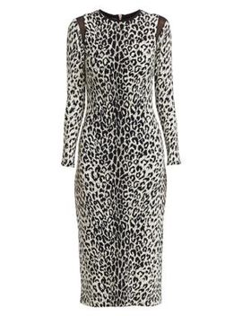 Kate Leopard Print Bodycon Dress by Le Superbe
