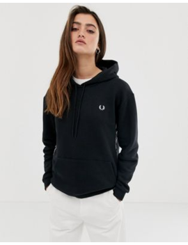 Fred Perry Taped Hooded Sweatshirt by Fred Perry