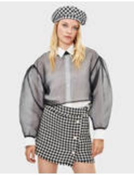 Pullover Mit Transparenzen by Bershka