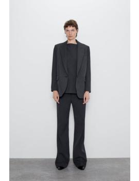 Blazer Oversize Com Bolsos Blazersmulher by Zara