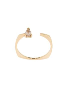 9kt Geel Gouden Argo Gota Ring Met Morganiet by Aliita