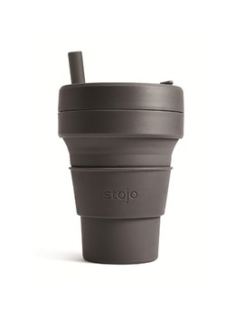 Stojo Collapsible Biggie Cup Grey by Well