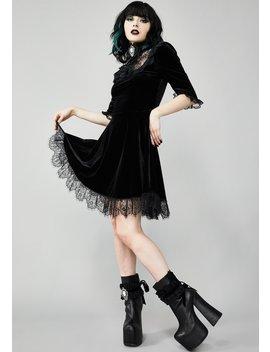 Ladyhawke Velvet Dress by Widow