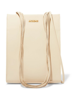 Le A4 Leather Tote by Jacquemus