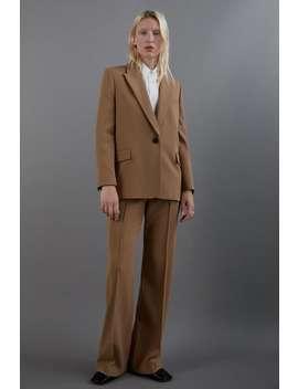 Blazer With Flap Pockets Suitswoman by Zara