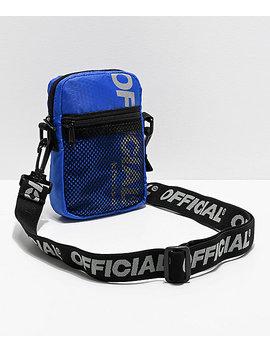 Official Edc Blue Utility Shoulder Bag by Official Crown Of Laurel