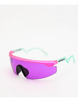 Happy Hour Accelerator Pink & Purple Sunglasses by Happy Hour