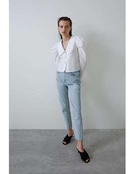 Bejewelled Poplin Shirt  New Intrf by Zara