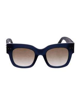 Square Gradient Sunglasses by Bottega Veneta