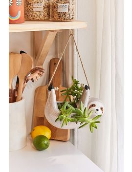 Sloth Hanging Planter by Urban Outfitters