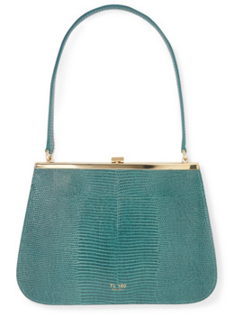 Anouk Lizard Effect Leather Tote by Tl 180
