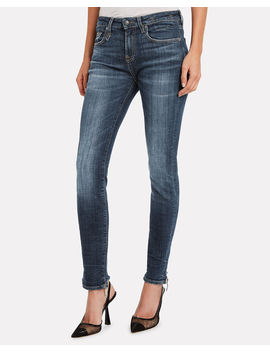 Alison Distressed Skinny Jeans by R13