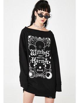 Karma Sweater Dress by Killstar