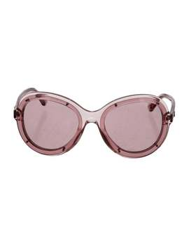 Round Runway Sunglasses by Chanel