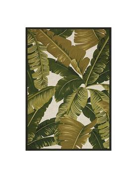 Pindo Ivory/Green 8 Ft. X 11 Ft. Indoor/Outdoor Area Rug by Home Decorators Collection