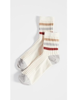 Ribbed Athletic Tube Socks by Madewell