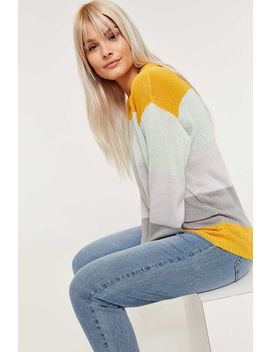 Color Block Oversized Sweater by Ardene