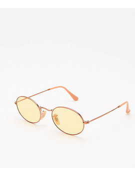 Ray Ban Rb3547 N Evolve Light Yellow Sunglasses by Ray Ban
