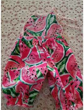 Baby Watermelon Romper 0 6 Mths by Etsy