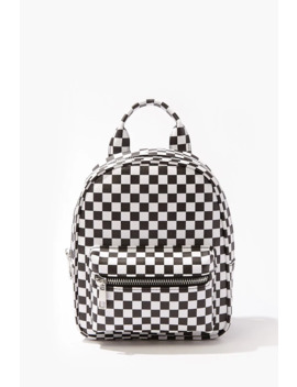 Checkered Mini Backpack by Forever 21