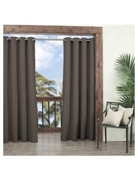 Key Largo Solid Indoor/Outdoor Curtain Panel   Parasol by Parasol