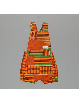 African Romper For Kids, African Baby Romper, African Baby Clothes, Baby African Dungarees, African Kids Clothing, Ankara Romper by Etsy