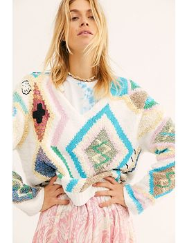 Sonny Kilim Jumper by Zadig & Voltaire