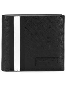 Stripe Detail Wallet by Bally
