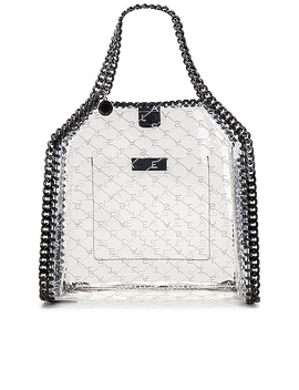 Mini Clear Falabella Monogram Tote by Stella Mc Cartney