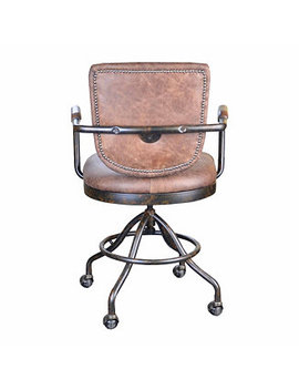 Moe's Home Collection Foster Desk Chair   Soft Brown & Reviews   Home   Macy's by Wayfair