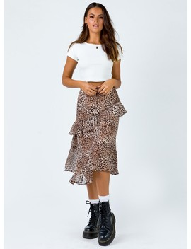 Zahara Maxi Skirt by Princess Polly