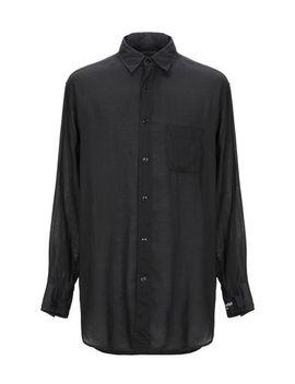 Yohji Yamamoto Einfarbiges Hemd   Hemden by Yohji Yamamoto