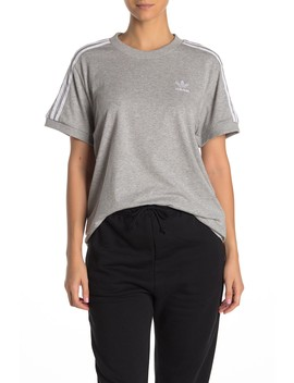 Oversized 3 Stripes T Shirt by Adidas