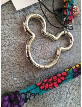 New Disney Vera Bradley Mickey Mouse Ears Head Magical Mums Lanyard Keyring Clip by Vera Bradley