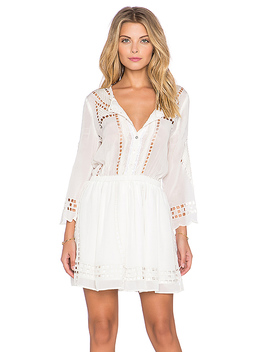 Orsen Dress In Ivory by Tularosa