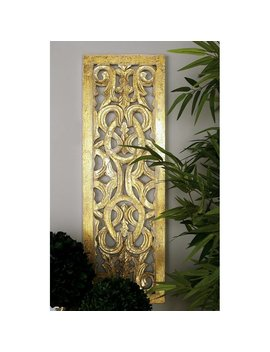 Gold Wall Décor (Part Number: 96070) by Cole & Grey