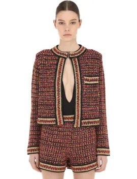 Lurex & Tweed Cropped Jacket by M Missoni