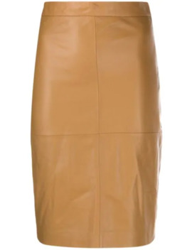 Textured Pencil Skirt by Federica Tosi