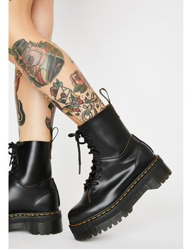 Jadon Decon Platform Boots by Dr. Martens