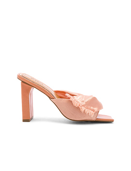 Knot Satin Heel In Clay by Jaggar