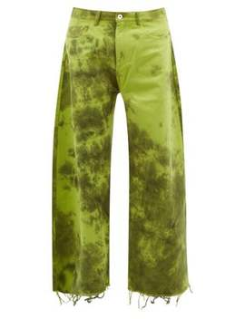 Tie Dye Wide Leg Jeans by Marques'almeida