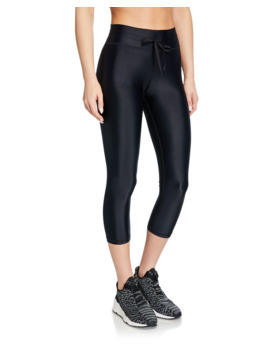 Nyc Cropped Yoga Leggings by The Upside