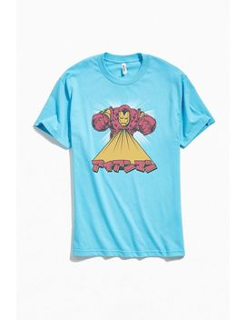 Retro Iron Man Kanji Tee by Urban Outfitters