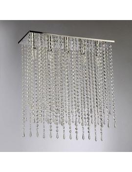 Cleave Crystal 5 Light Chrome Chandelier With Shade by Warehouse Of Tiffany