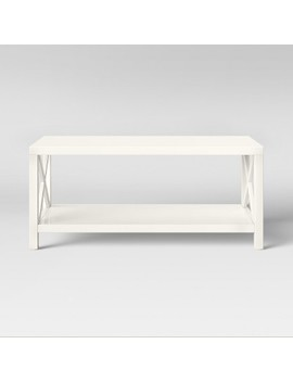 Owings Coffee Table Cream   Threshold by Threshold