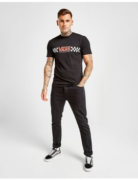 Vans Central Logo Checkerboard T Shirt by Vans