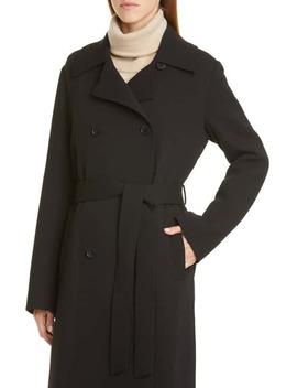 Marjorie Wool Trench Coat by Lafayette 148 New York